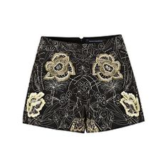 Buy French Connection San Fran Stitch Shorts, Black Multi Online at johnlewis.com