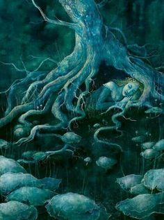 Whispering Tree By Katrina Sesum.