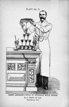 Victorian barman