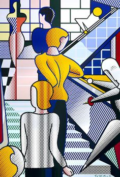 Bauhaus Stairway Mural -  Image-Duplicator - Year1989 MediumOil and Magna on canvas Dimensions (US)324 x 216 inches Dimensions (metric)823 x 548.6 cm
