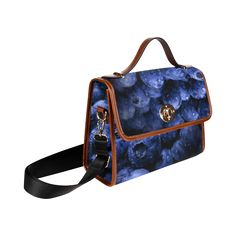 Blueberries Waterproof Canvas Bag/All Over Print. FREE Shipping. FREE Returns. #bags #fruits