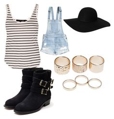 """quickly dressed"" by alexisbarrios on Polyvore featuring rag & bone, H&M, Monki, Rupert Sanderson and Wet Seal"