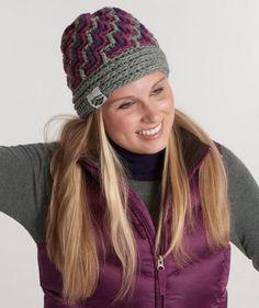 Ladies' Crochet hat pattern for free