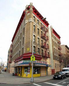 Classic Corner Building, Morrisania, Bronx, New York City New York Architecture, Architecture Details, Bronx Nyc, New York Girls, New York Art, City That Never Sleeps, Staten Island, Concrete Jungle, Brooklyn