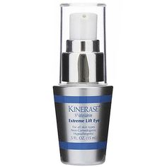 Kinerase Extreme Lift Eye $85.50 Smoothes fine lines and wrinkles as it lifts and tightens skin around the eyes #EyeCare #Kinerase www.entirelyskin.com