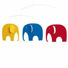 Elephant party mobile R340 Party up a storm with these happy elephants!