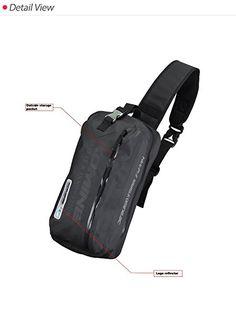 Amazon.com: Komine SA-217 WR YELLOW ONE SHOULDER BAG 8 Liters Size 09-217: Automotive