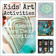 Favorite Kids Art Activities