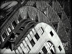 The Chrysler Building Photograph by James Aiken - The Chrysler Building Fine Art Prints and Posters for Sale james-aiken.artistwebsites.com #jamesaiken #blackandwhitephotography #ChryslerBuilding
