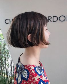 이미지: 사람 1명 이상, 실외 Girl Short Hair, Short Hair Cuts, Ulzzang Hair, Medium Hair Styles, Long Hair Styles, Shot Hair Styles, Hair Romance, Hair Again, Girl Haircuts