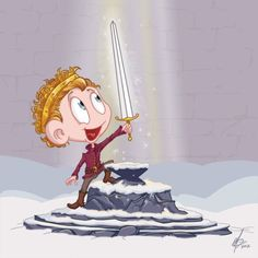 @Hashtag_Genius: Henry and the Magic Sword for Cecilia.