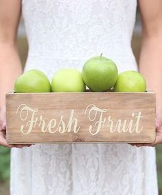 Take a look at this 'Fresh Fruit' Planter Box on zulily today! Apple Farm, Apple Orchard, Planter Boxes, Planters, Fall Dishes, Apple Theme, Apple Valley, Fresh Market, Granny Smith