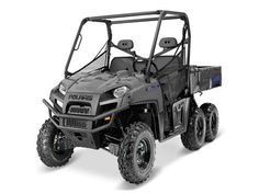 New 2017 Polaris RANGER 6x6 Avalanche Gray ATVs For Sale in North Carolina.