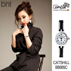 """www.bekanbell.com - [actor / 고은미. bnt pictorial]. Elegant and Feminine timepieces from Germany """"Butterfly on your wrist"""" #watch #germany #bekanbell #celebrity #fashion #pictorial"""
