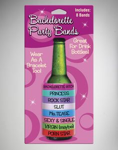 Bachelorette Party Beer Bands