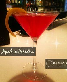 April in Paridise! Yum!