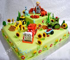 Bob the builder birthday cake Bob the Builder Bob the Builder amazing bob the builder cake Bob the Builder Big Birthday Cake, Unique Birthday Cakes, Special Birthday Cakes, Novelty Birthday Cakes, Novelty Cakes, Boy Birthday Parties, Birthday Ideas, Bob The Builder Cake, Chocolate Mud Cake