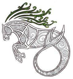 Celtic Kelpie by ~Kakaro on deviantART