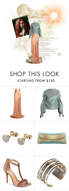 """""""Copper and Green Dream!"""" by flippintickledinc ❤ liked on Polyvore featuring Meli Melo, Galvan, Toga, Other, VBH, INC International Concepts and William Spratling"""