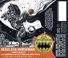 Four Horsemen Headless Horseman Pumpkin Ale (via Beer Pulse)