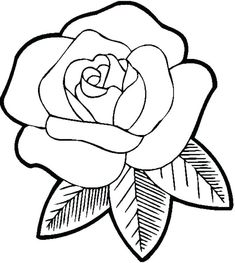Easy pencil drawings of roses rose flower picture drawing beautiful rose flower sketches rose flower drawing images easy art pictures to rose flower picture Rose Coloring Pages, Printable Flower Coloring Pages, Online Coloring Pages, Coloring Pages For Girls, Mandala Coloring Pages, Coloring Books, Coloring Sheets, Coloring Worksheets, Simple Coloring Pages