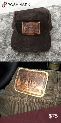 Custom Vintage Polo Corduroy 1 Of 1 5 Panel Hat Custom Vintage Polo Corduroy  1 Of 82b8470aa34f