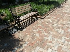 Georgetown Pavers on Charlotte Street in Charleston, SC Brick Companies, Pawleys Island, Outdoor Furniture, Outdoor Decor, South Carolina, Home Projects, Colonial, Yard, Exterior