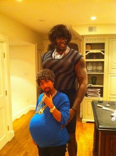 Shaq and his girlfri