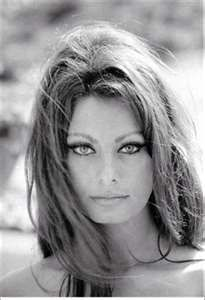 For my dad, who was hopelessly in love with her..... Young Sophia Loren with 1960s makeup...love her