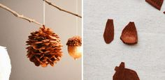 beautiful crepe paper ornament || tiffanie turner/corner blog/woodland egg ornaments for carte fini