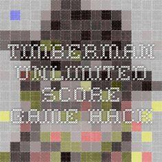 Timberman Unlimited Score Game Hack