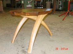 end grain legged furniture - Google Search