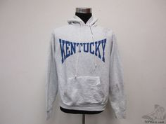Vtg 90s Kentucky Wildcats Hoody Sweatshirt sz XL Extra Large University UK  #Unknown #KentuckyWildcats #tcpkickz
