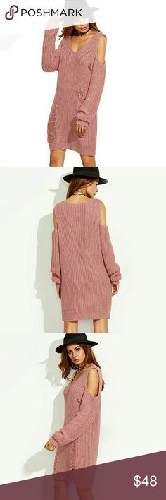 *New* Sweater Dress Brand new! Fits a small to medium. Very soft (not itchy) Very warm!  Offers welcome! Dresses Long Sleeve