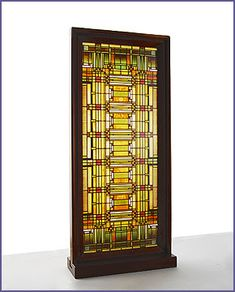 Frank Lloyd Wright® Oak Park Skylight Stained Glass