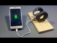 To Make Free Energy Mobile Phone Charger With . -How To Make Free Energy Mobile Phone Charger With . Diy Electronics, Electronics Projects, Magnets Science, Tech Hacks, Energy Projects, Energy Technology, Alternative Energy, Science Projects, Solar Energy