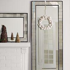 Antique Tiled Floor Mirror modern mirrors | Espejos | Pinterest ...