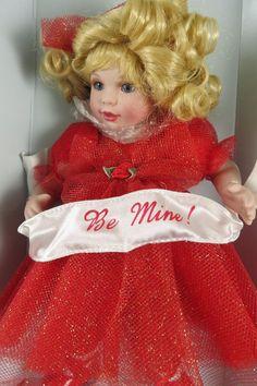 "Marie Osmond for Keepsakes Be Mine 9"" Valentine Doll Never Displayed #MarieOsmond #DollswithClothingAccessories"