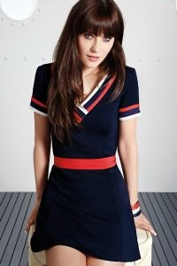 Zooey Deschanel for Tommy Hilfiger Collection April 2014 - these dresses are adorable!