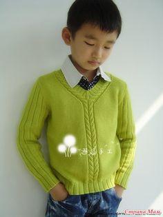 Легко и просто: вяжем пуловер!