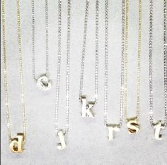 Spotted in Store: Spell it out with ALEX WOO necklaces