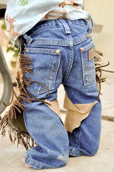 infant baby cowboy cowgirl chaps/ cowboy by lilwesternworks