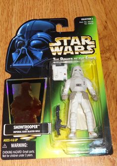 Star Wars Action Figure Kenner 1997 Snowtrooper Imperial Issue Blaster Rifle  #Kenner