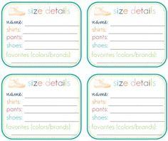 20 Printables that Will Help Organize Everything