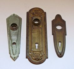 Vintage Door Plates by Bluemooncollection on Etsy, $25.00