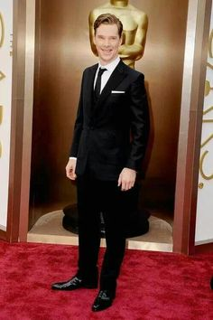 Benedict at the Oscars.