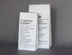 4d01e06d20 Papierové vrece Le Petit Sac En Papier 52 cm Kraft Paper