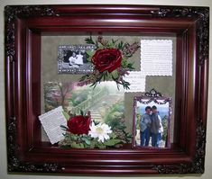 Best Shadow Box Ideas Pictures Decor and Remodel & shadow boxes for funerals | Here is the shadow box memorial that I ... Aboutintivar.Com