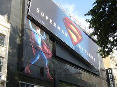 Superman billboard outdoor advertising http://www.arcreactions.com/services/social-media/