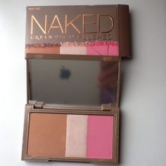NAKED, New New, NAKED Bronzer/ highlighter/ Blush Naked Makeup Bronzer